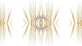 Cyfrowej graficznej sztuki projekt na białym tle royalty ilustracja