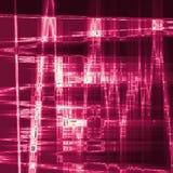 Cyfrowej grenadyny Abstrakcjonistyczna Kolorowa Falista Trójgraniasta Zygzakowata tekstura Zdjęcie Royalty Free