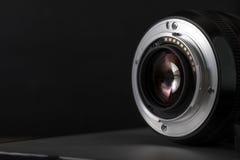 Cyfrowej kamery obiektywu zakończenie up Obrazy Stock