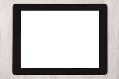Cyfrowej pastylka Z Pustym bielu ekranem Zdjęcie Royalty Free