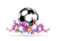 Cyfrowej piłki nożnej projekt Zdjęcie Stock