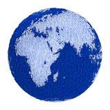 Cyfrowej planety ziemia obrazy royalty free