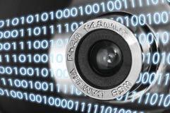 Cyfrowej sieci kamera Obrazy Stock