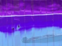 Cyfrowej sztuka: Różny morze Obrazy Royalty Free
