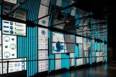 Cyfrowej sztuki miejsca des sztuk korytarz Zdjęcie Stock