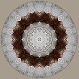 Cyfrowej sztuki projekt robić papier i sznur widzieć przez kalejdoskopu royalty ilustracja