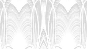 Cyfrowej sztuki szarość abstrakcjonistyczny projekt na białym tle ilustracja wektor