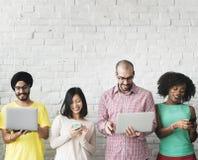 Cyfrowej technologii networking drużyny Podłączeniowy pojęcie Zdjęcie Stock