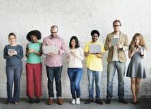 Cyfrowej technologii networking drużyny Podłączeniowy pojęcie Zdjęcia Stock