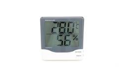 Cyfrowej temperatura Zdjęcia Stock