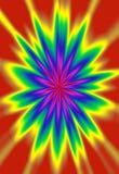Cyfrowo tworzący żywy barwiony abstrakcjonistyczny tło Zdjęcia Royalty Free