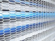 Cyfrowo wizerunek błękita światła tło zdjęcie royalty free