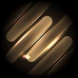 Cyfrowo wytwarzający wizerunek błękita światło rusza się szybko nad czarnym tłem lampasy i Obrazy Stock