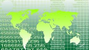 cyfrowy ekologii mapy wektor Fotografia Stock