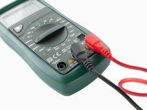 cyfrowy elektrycznego wyposażenia pomiarowy multimeter Obraz Royalty Free