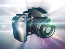 cyfrowy kamery dslr ilustracji