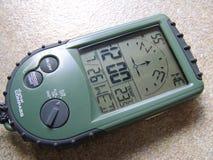 cyfrowy kompas. Zdjęcia Stock