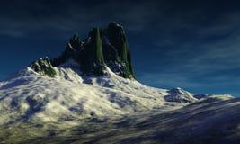 cyfrowy krajobrazu ilustracja wektor