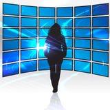 cyfrowy medialny świat Fotografia Stock