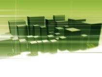 cyfrowy miasta Zdjęcie Stock