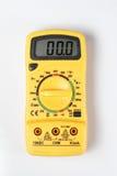 Cyfrowy Multimeter na białym tle Zdjęcia Stock