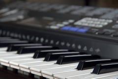 cyfrowy pianino fotografia royalty free