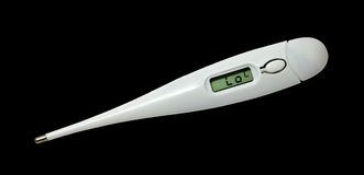 cyfrowy termometr Obrazy Royalty Free