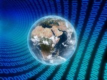 cyfrowy świat Obraz Stock
