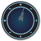 cyfrowy wyświetlacz kompas Obrazy Royalty Free