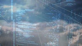Cyfrowy złożony niebo