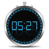 cyfrowy zegar Obraz Royalty Free