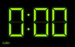 cyfrowy zegar Obrazy Royalty Free