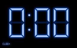 cyfrowy zegar Zdjęcie Stock