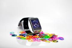 Cyfrowy zegarek Zdjęcia Royalty Free