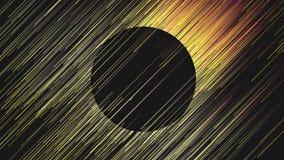 Cyfrowych żółtych linii abstrakta diagonalny tło świadczenia 3 d Zdjęcia Stock