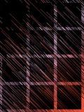 Cyfrowych czerwonych linii abstrakta diagonalny tło świadczenia 3 d Obraz Stock
