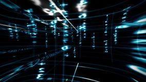 Cyfrowych dane matryca ilustracji