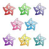 Cyfrowych kwiaty Zdjęcie Stock