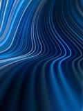 Cyfrowych linii abstrakta błękitny barwiony tło świadczenia 3 d ilustracja wektor