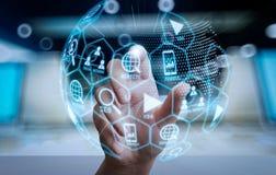 Cyfrowych marketingowi środki (strony internetowej reklama, email, ogólnospołeczna sieć, SEO, fotografia stock