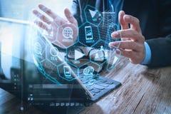 Cyfrowych marketingowi środki (strony internetowej reklama, email, ogólnospołeczna sieć, SEO, zdjęcia stock