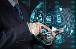 Cyfrowych marketingowi środki (strony internetowej reklama, email, ogólnospołeczna sieć, SEO, zdjęcie royalty free