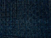 Cyfrowych sieci labiryntu wzoru tekstury błękitny tło fotografia royalty free