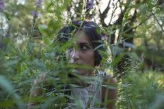 Cygańska szaman kobieta Zdjęcie Royalty Free