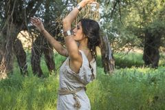 Cygańska szaman kobieta Obrazy Royalty Free