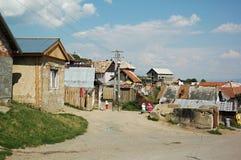 Cygańska wioska Betlanovce Obraz Stock