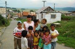 Cygańska wioska Betlanovce Zdjęcie Stock