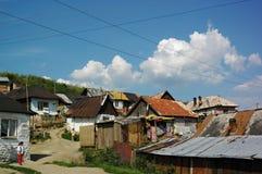 Cygańska wioska Betlanovce Obraz Royalty Free
