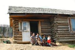 Cygańska wioska Betlanovce Obrazy Royalty Free