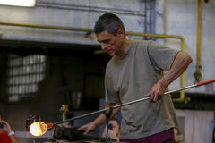 Cyganeria kryształu przemysł Fotografia Royalty Free